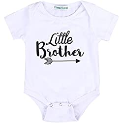 Rainbowlight Little Brother Print Cotton T-Shirt