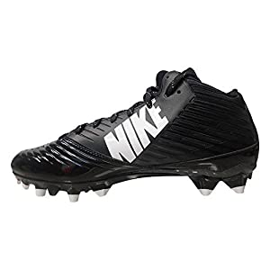 Nike Vapor Speed 3/4 TD Football Cleat Black/White Size 10 D(M) US