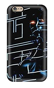 New Style Tpu 6 Protective Case Cover/ Iphone Case - Beautiful New Age Tron Futuristic(3D PC Soft Case)