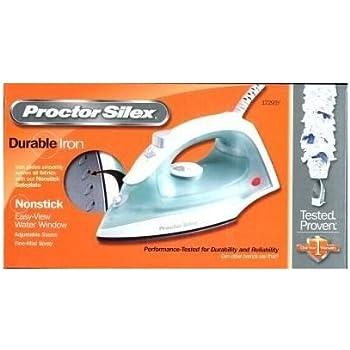 Amazon Com Proctor Silex Nonstick Lightweigh Steam Iron