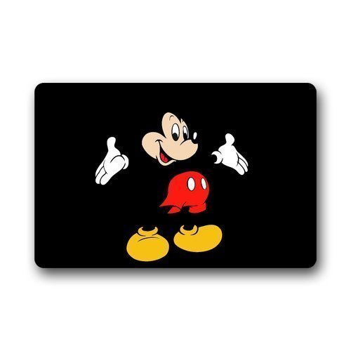 cover-case-dh Mickey Mouse Cartoon personalizar su propio personalizado Felpudo para interior/