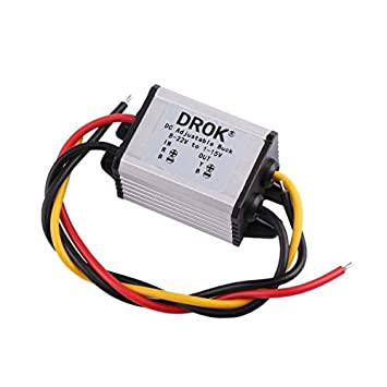 Incredible Drok Waterproof Dc Buck Converter Voltage Regulator 8 22V To 1 15V Wiring 101 Cajosaxxcnl