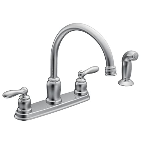 Moen CA87888 High Arc Kitchen Faucet From The Caldwell Collection, Chrome