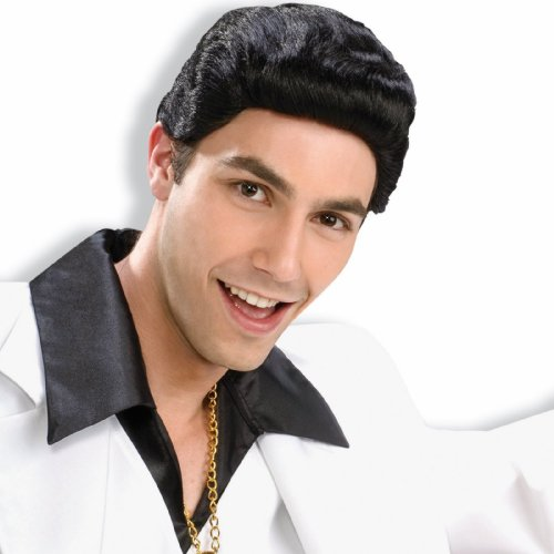 Forum Novelties 70s Disco Dude Wig (Black) Adult Halloween Costume Accessory -