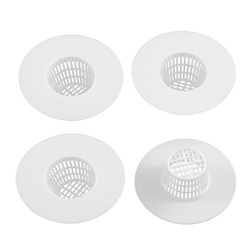 uxcell Bathroom Plastic Stopper Strainers