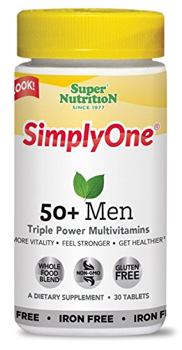 SuperNutrition SimplyOne Men's 50+ Multivitamin