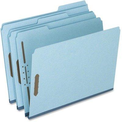 (3 Pack Value Bundle) PFXFP213 Two-Fastener Pressboard Expanding Folder with 1/3 Cut Tab, Letter, Blue, 25/Box