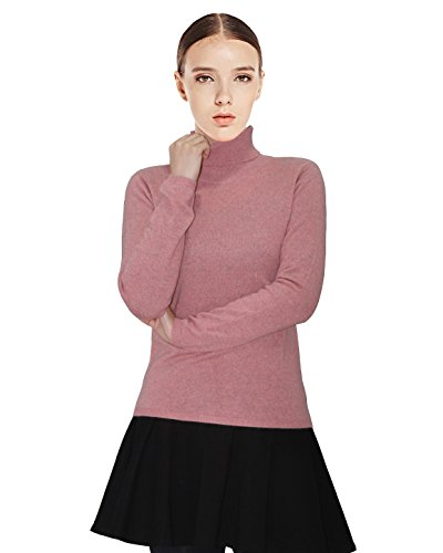 Pink 100% Cashmere Sweater - 8