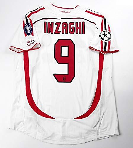 Brook INZAGHI#9 AC Milan Away Retro Soccer Jersey 2006-2007 Full ...