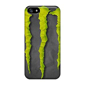 Marycase88 Iphone 5/5s Bumper Hard Phone Cases Customized Fashion Monster Skin [EAG16754hvzx]
