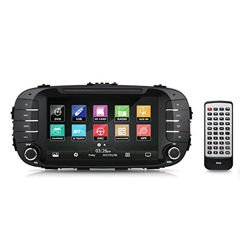 2014/2015 Kia Soul Console Stereo Receiver System, GPS Na...
