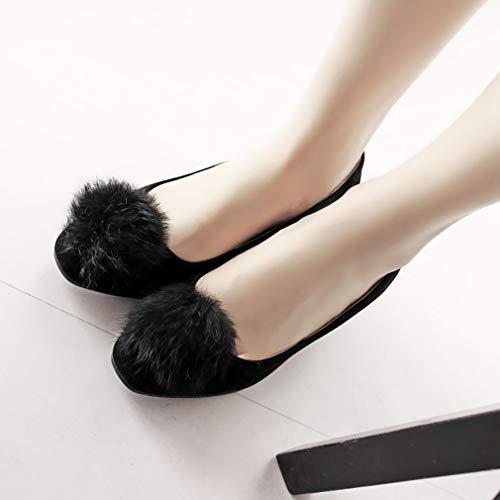 C sur Glisser Vaneel vadxst Square 5 Femme Chaussures Noir Escarpins ToeCM YHWpvWBq