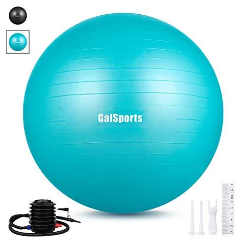 GalSports Exercise Ball 45cm-75cm