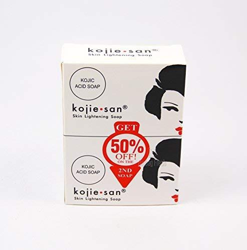 改善肤色效果超好!微博红人狂推荐的Kojie San圣美白皂