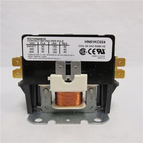 Genuine OEM Carrier HN51KC024 1Pole 24V 30Amp ()