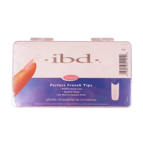 Ibd Perfect French Tips (IBD Perfect French Tips, 100 Count)