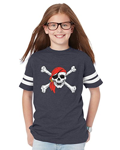 Mom's Favorite Christmas T-Shirt Jolly Roger Skull Crossbones Halloween Ugly Sweater Xmas Party Unisex Youth Shirts Jersey ()