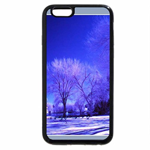 iPhone 6S / iPhone 6 Case (Black) Blue Winter!
