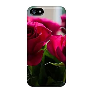 Fashion Case For Iphone 5/5s- Bouquet Of Red Roses Defender Case Cover