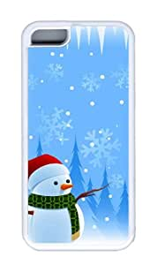 Customized Case christmas 2 TPU White for Apple iPhone 5C
