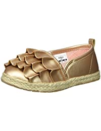 Kids Belle Girl's Beachy Espadrille Flat Loafer