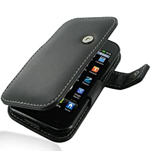 PDair B41 Black Leather Case for LG Optimus SOL E730