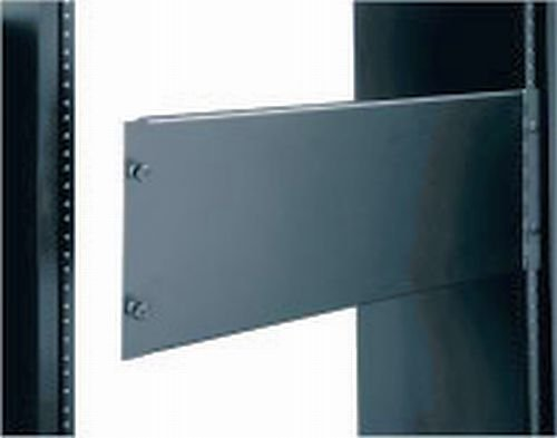Access Panel for Rackmount, Solid or Vented Racking Height: 3 1/2'' (2U space), Panel Type: Solid