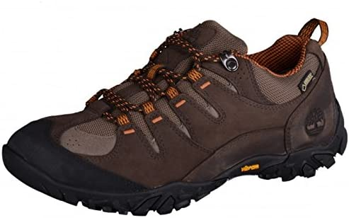 Timberland Varston Low Fabric and Leather with Goretex Membrane, Chaussures de Randonnée Basses Homme