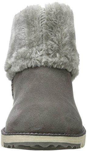 s.Oliver Damen 26418 Schlupfstiefel Grau (Grey)