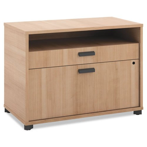 HON Manage File Center , 1 Open Shelf / 1 Pencil Drawer / 1 Lateral Drawer , 30
