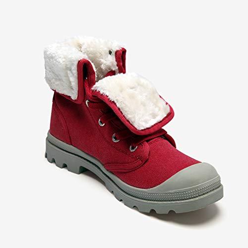 High C Cotone scarpe Lace Caldo Tooling Scarpe Tela All'aperto Casual Yan Donna Shoes Canvas Uomo Inverno In top Da Up qvt48Hf