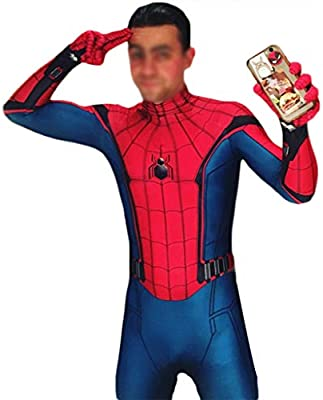 QWEASZER Spider-Man: Homecoming, Traje de Spiderman Anime Zentai ...
