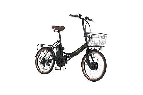 [해외] Raychell(레이첼) 20인치 접이식 전동 자전거 FB-206R-EA 6 단변속 그립 시프트 프론트LED라이트 [메이커 보증1년]