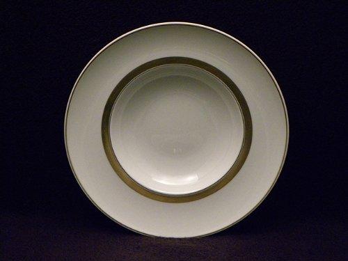 Vista Alegre Domo Gold Rim Soup Bowls (Rimmed Soup Bowl Vista)