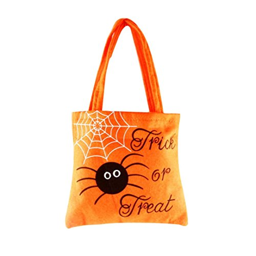 Rosiest Halloween Pumpkin Witch Sugar Bag Bag Children 's Party Storage Bag Gift - Fendi Outlet Store