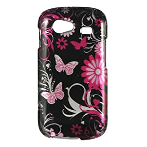 Pink Butterfly Protector Case Phone Cover for Samsung Nexus S [Electronics]