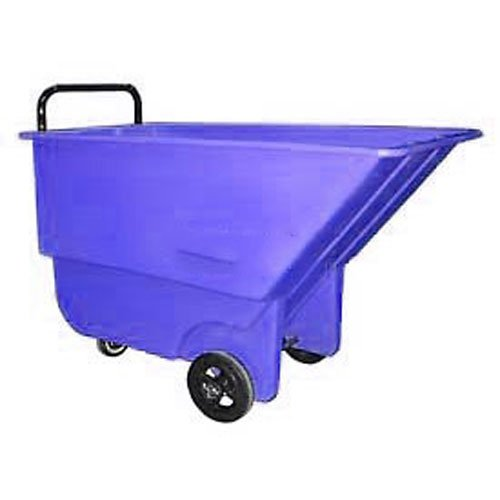 Blue Tilt Truck - Bayhead 1/3 Cubic Yard Tilt Truck, Light Duty, 275 Lb. Capacity, Blue