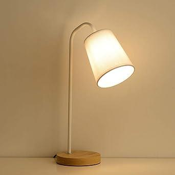 lámpara escritorio Lámpara de mesa LED Art de madera Hotel Hotel ...