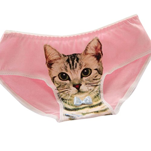 DongDong Big Promotion! Lady Sexy Pants Individual Cat 3D Cotton - Panties Cotton Barbie