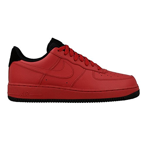 Price comparison product image Nike - Air Force 1 07 - 315122613 - Color: Black-Red - Size: 12.5