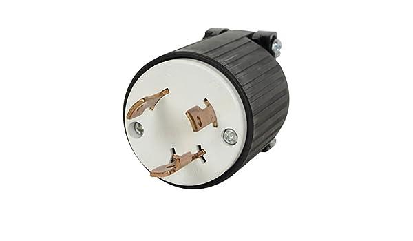 Conntek L5-30R Marine Shore Power Bare Cord Connector 30 Amp Marine Female Co...