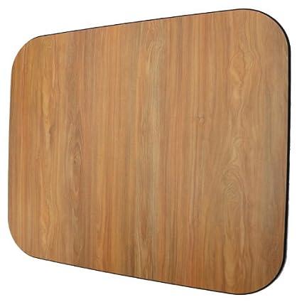 amazon com laminate chair mat oak 42x46 rectangle carpet chair