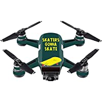 Skin For DJI Spark Mini – Skaters Gonna Skate | MightySkins Protective, Durable, and Unique Vinyl Decal wrap cover | Easy To Apply, Remove, and Change Styles | Made in the USA