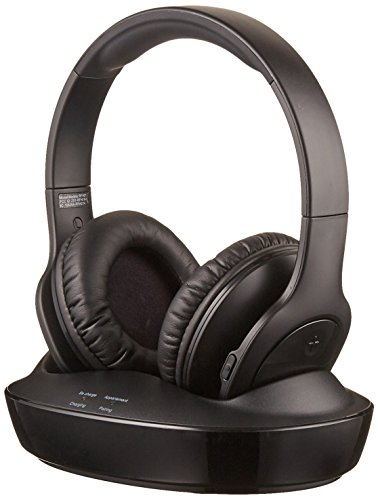 AmazonBasics Over Ear Wireless Headphones Charging
