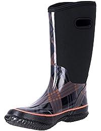 Women's Neoprene Rubber Snow Boots For Ladies Winnter Warm