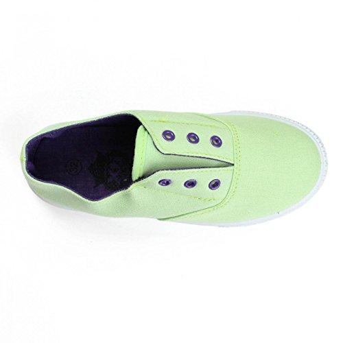 Sneaker für Junge und Mädchen XTI 53025 TEXTIL AQUA