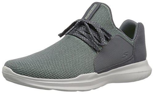 Skechers Performance Go Run Mojo-Verve, Zapatillas Deportivas Para Interior Para Mujer Gris (Charcoal/green)