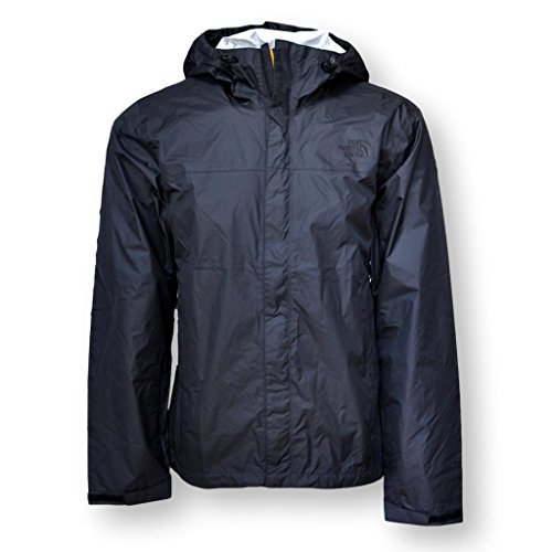The North Face Men's Venture Rain Jacket, TNF Black, Large