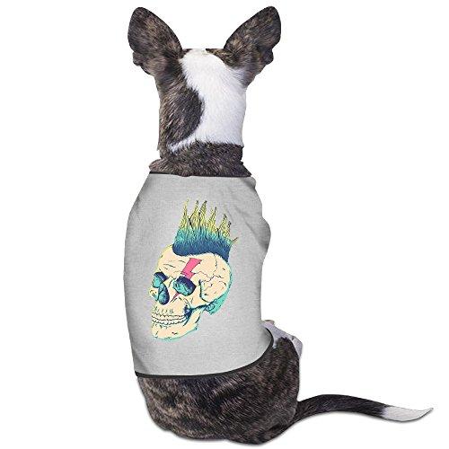 skull-punk-face-bowie-pineapple-lightening-dog-clothes-shirt