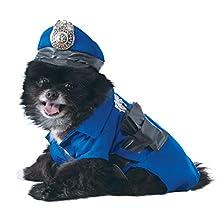 Rubie'S - Disfraz Oficial para Perro de policía, Talla XL